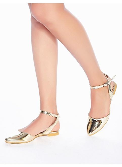 Mecrea Sandalet Altın